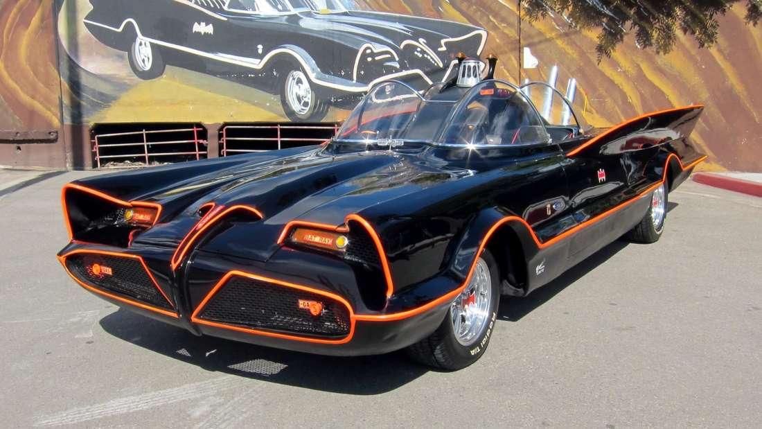 Batmobil aus den 1960er Jahren.