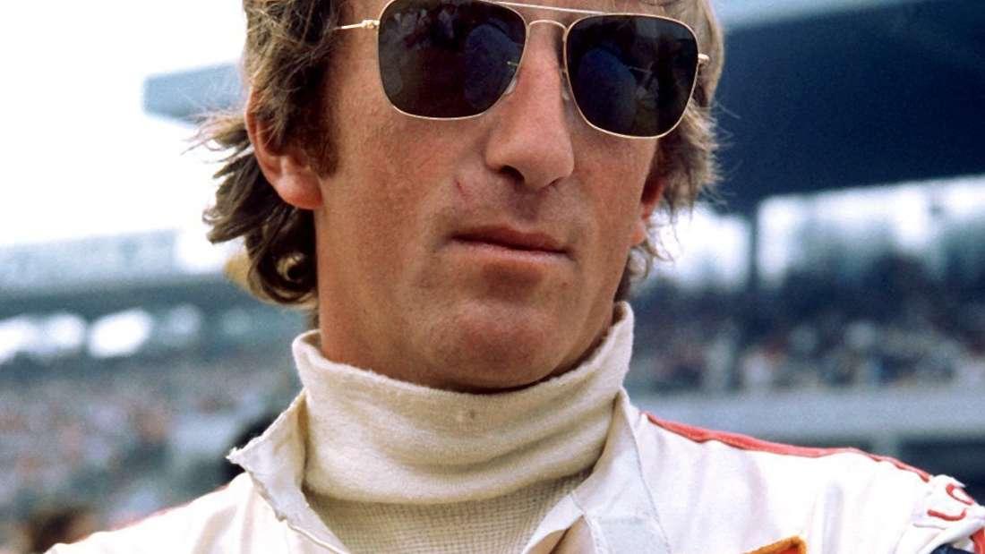 Der Rennfahrer Jochen Rindt vor dem «Großer Preis von Deutschland» am 2. August 1970 in Hockenheim.