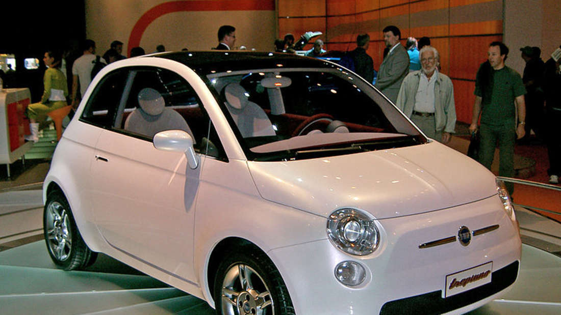 Fiat Trepiùno - Studie des Fiat 500 von 2004