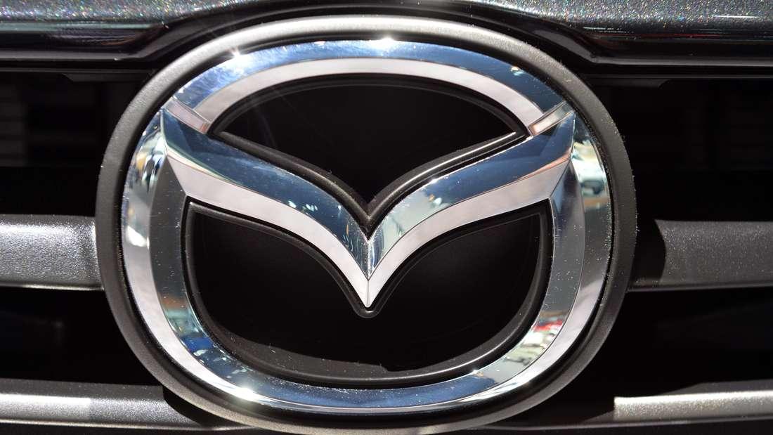Das Logo des japanischen Autobauers Mazda.
