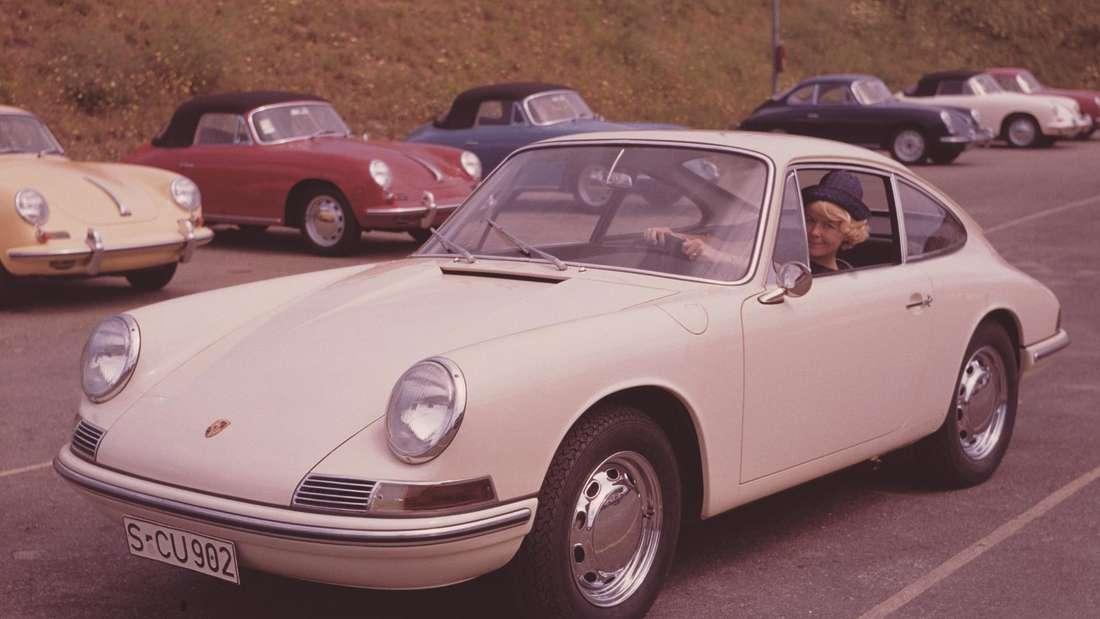 Ein Porsche 911 der ersten Generation.