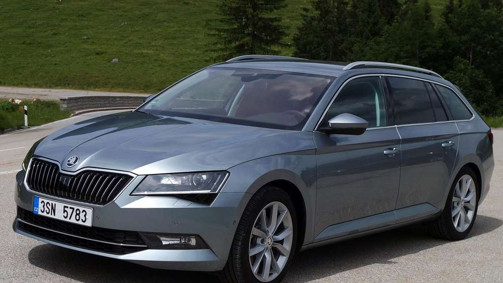 Škoda Superb Combi in der dritten Generation
