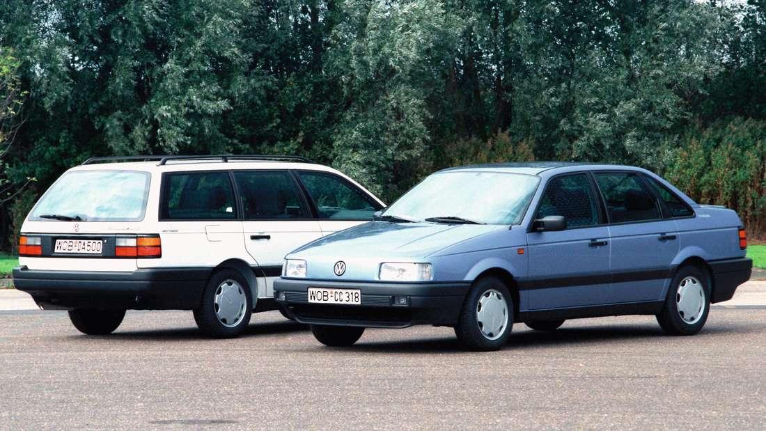 VW Passat der dritten Generation als Limousine und Variant