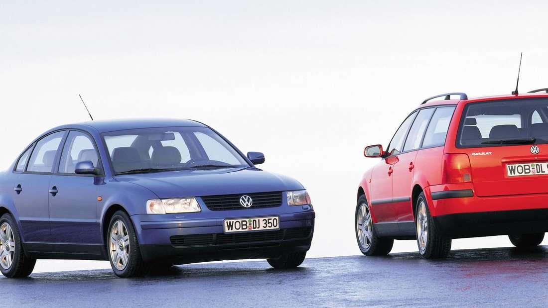 VW Passat der fünften Generation als Limousine und Variant