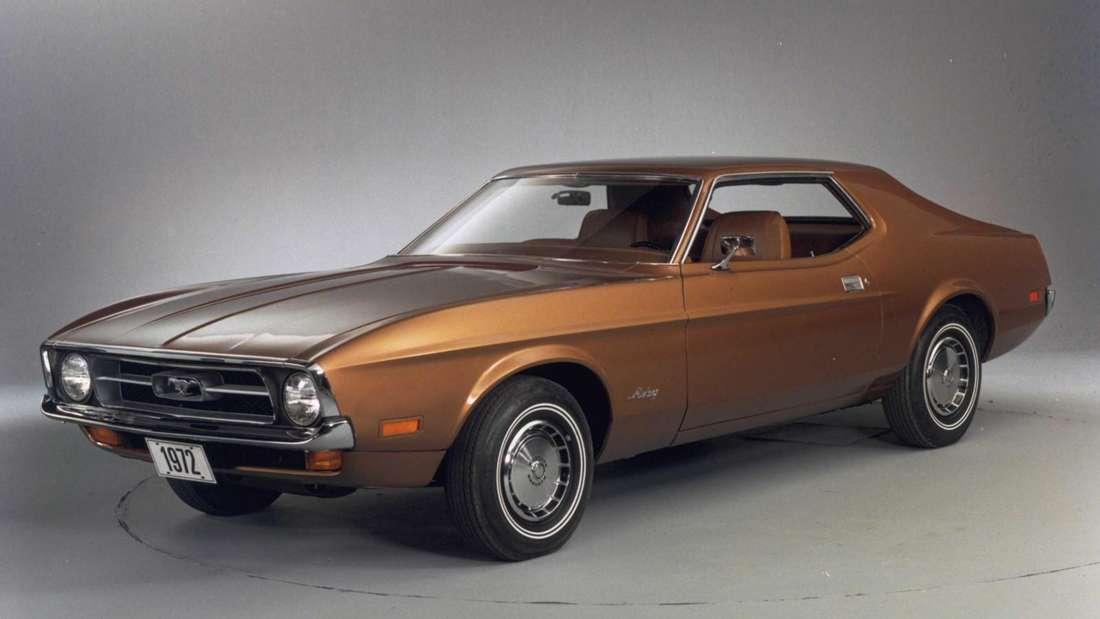 1972er Ford Mustang Coupé in Bronze Metallic