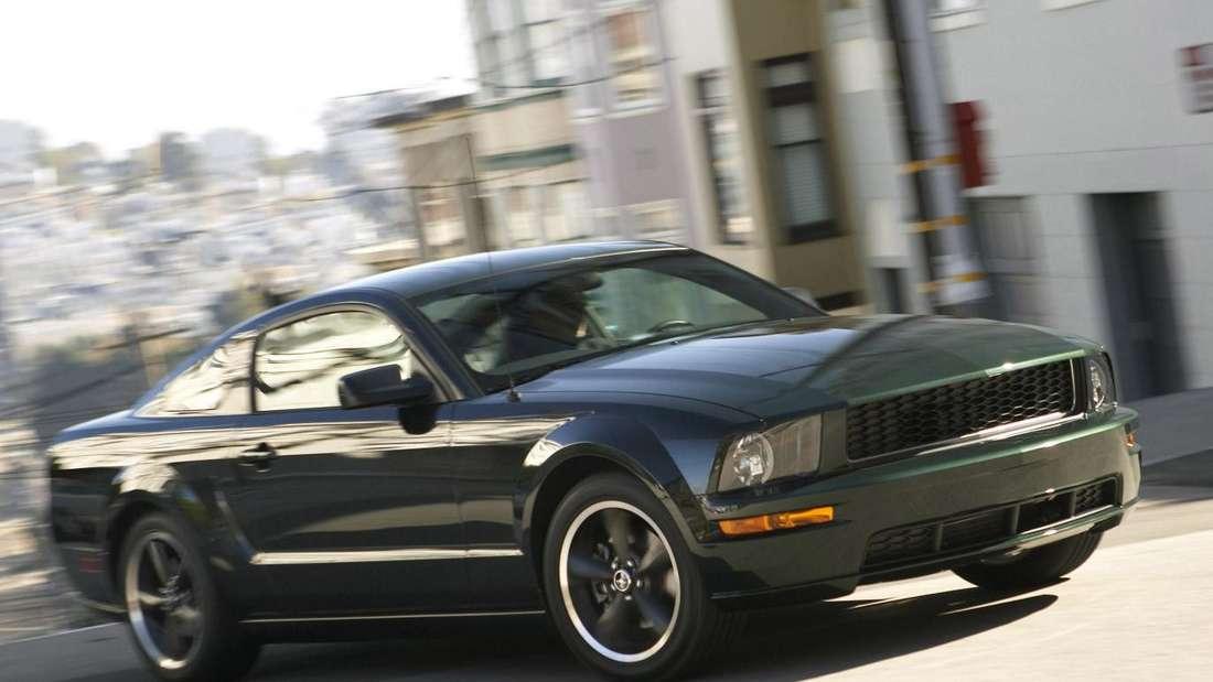 2008er Ford Mustang als Bullitt-Sondermodell
