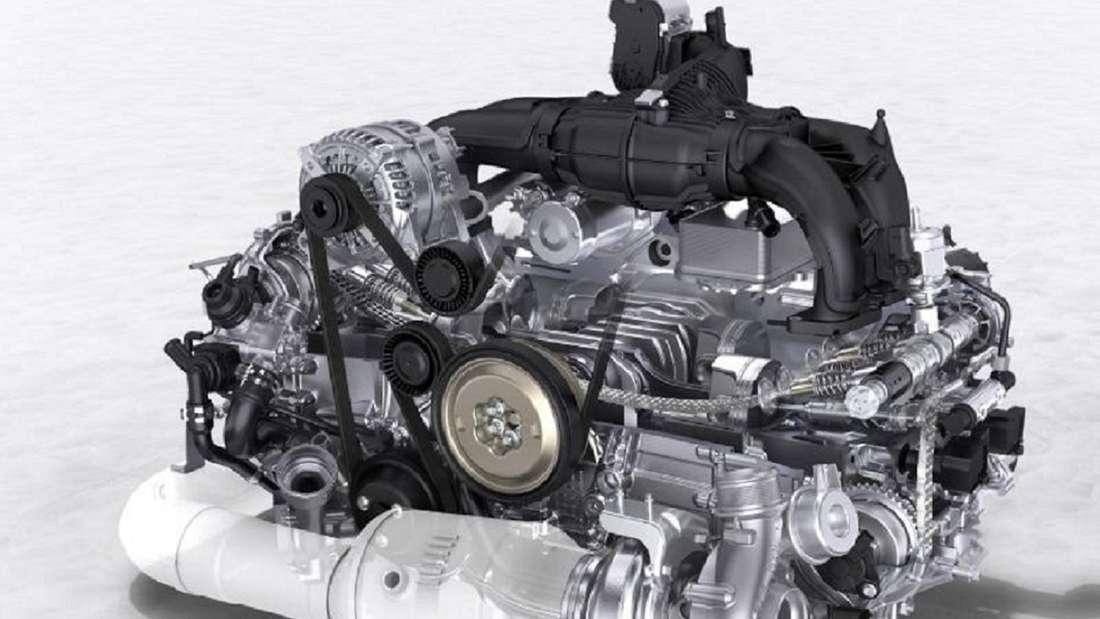 Abbildung eines Boxermotors