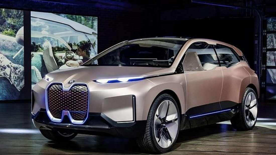 Die BMW-Studie iNext.