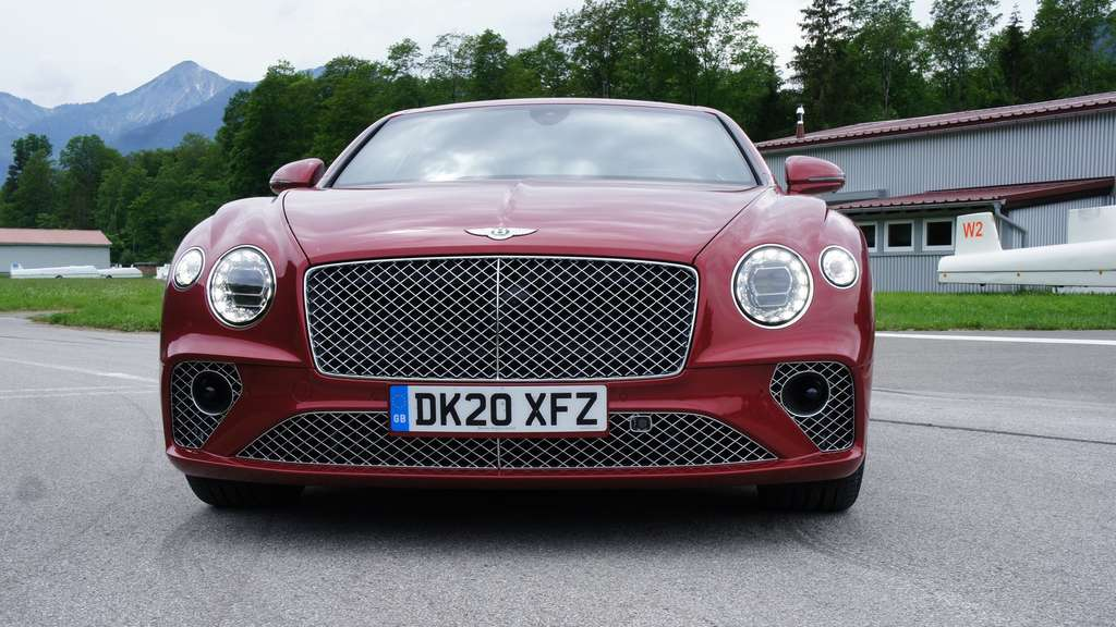 Front des Bentley Continental GT.