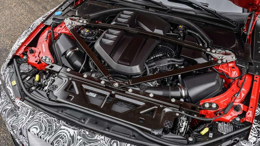 Motor des neuen BMW M3