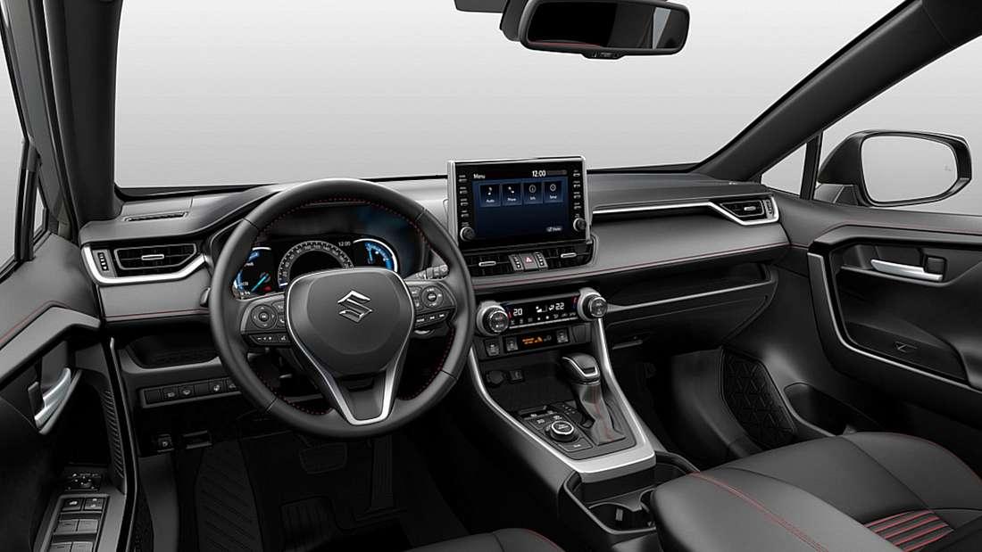 Innenraum des Suzuki Across