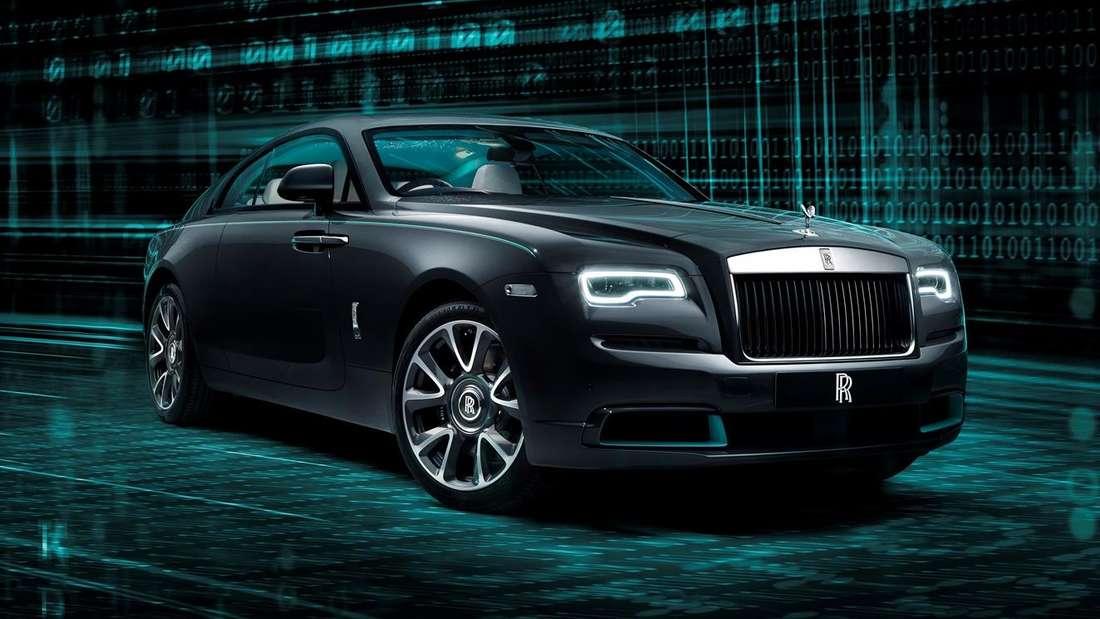 Ein Rolls-Royce Wraith der Kryptos-Collection.