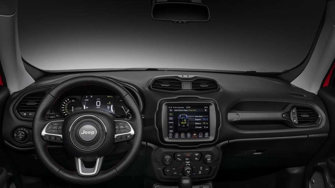 Innenraum des Jeep Renegade