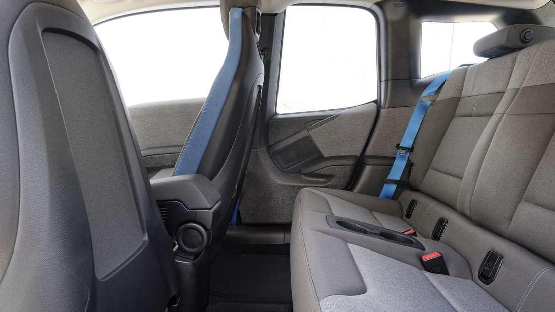 Innenraum-Aufnahme eines BMW i3