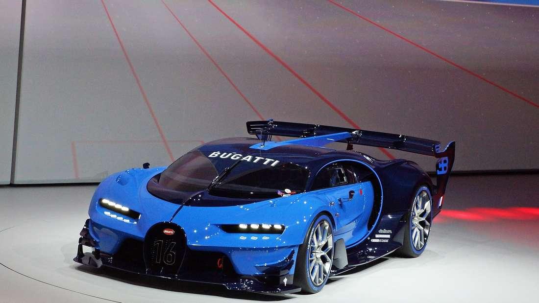 Die Studie Bugatti Vision Gran Turismo.