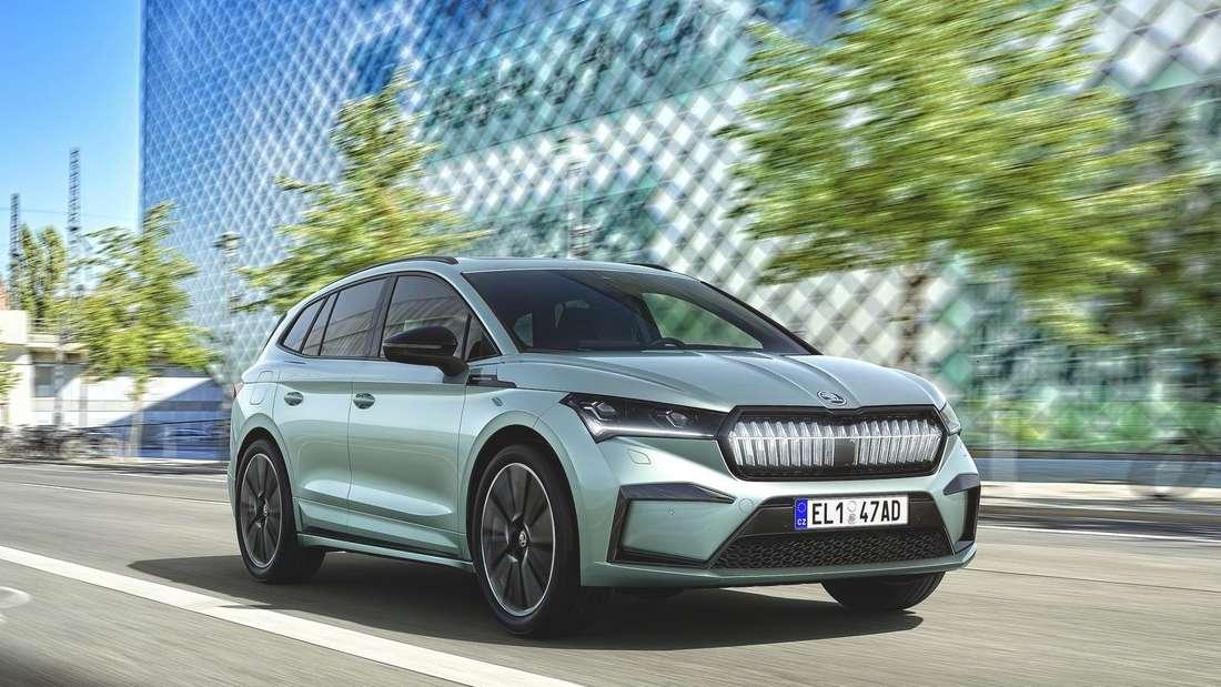 Škoda Enyaq iV fahrend