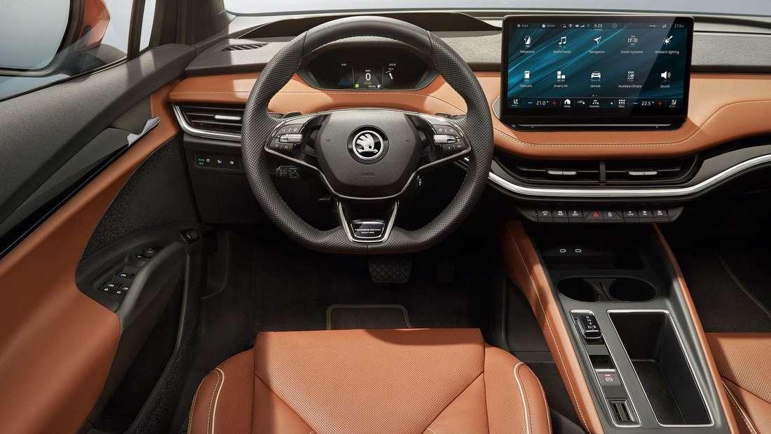 Innenraum des Škoda Enyaq iV
