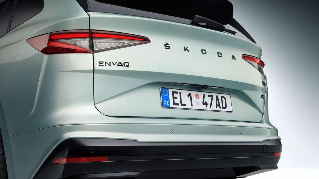 Škoda Enyaq iV Heck