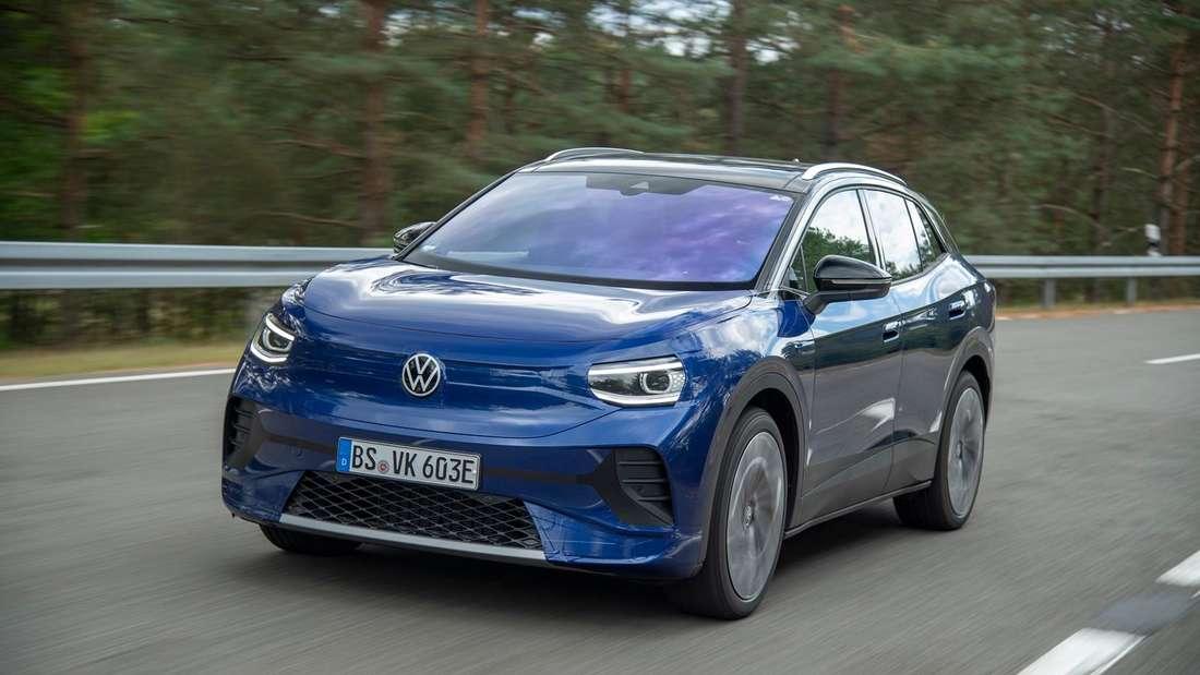 VW ID.4 fahrend