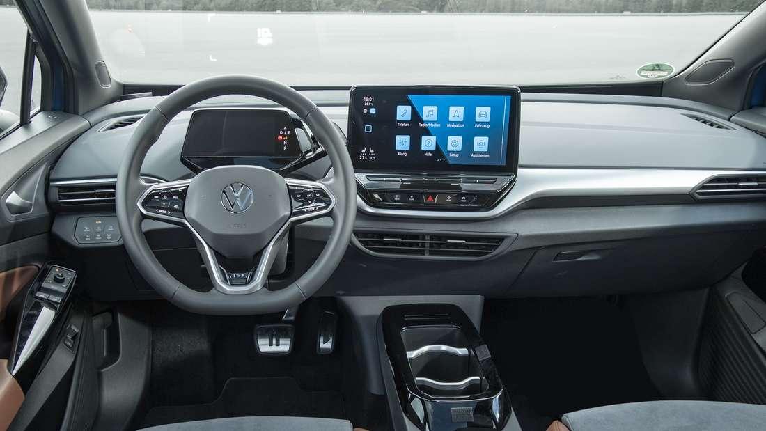 Innenraum des VW ID.4