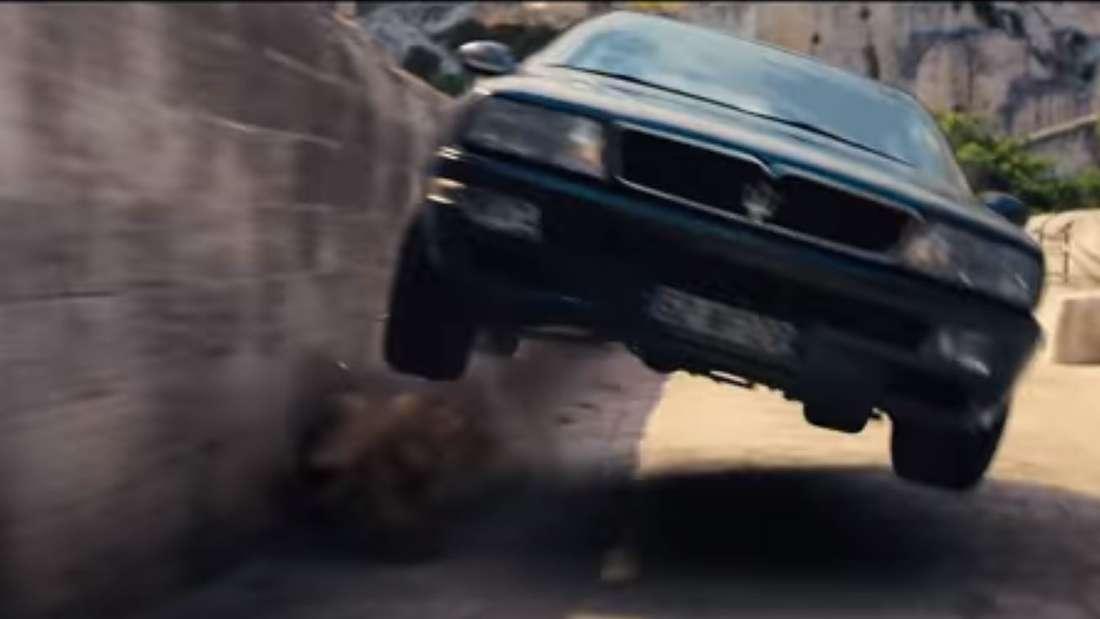 Maserati Ghibli Biturbo bei Film-Stunt