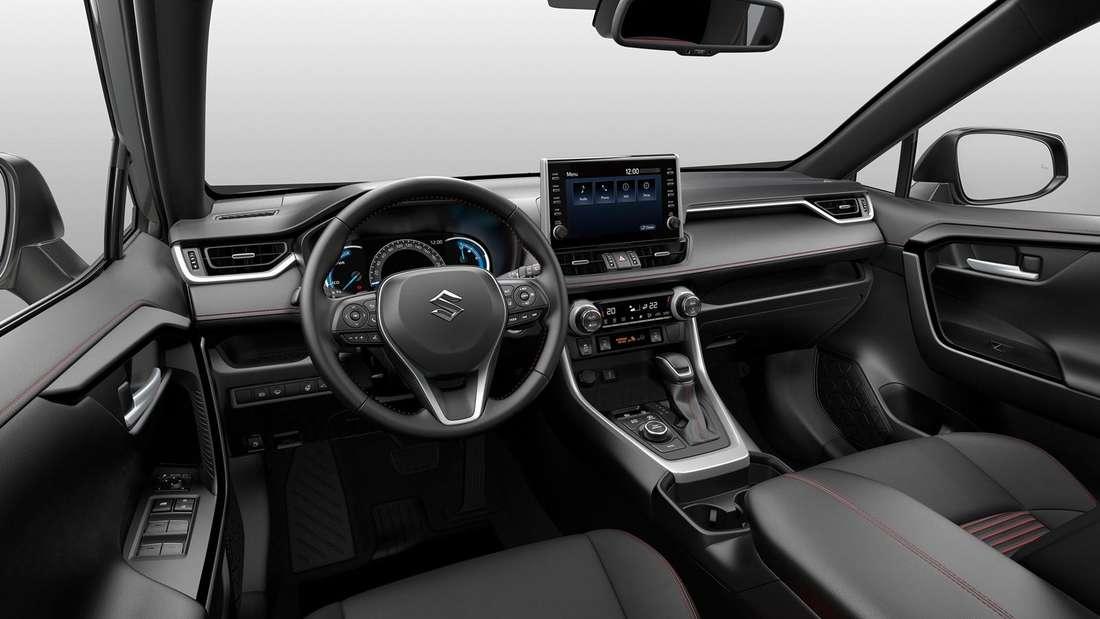 Cockpit-Aufnahme eines Suzuki Across
