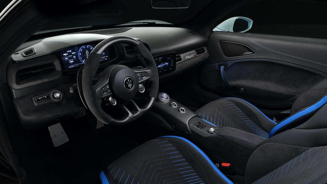Blick in den Innenraum des Maserati MC20