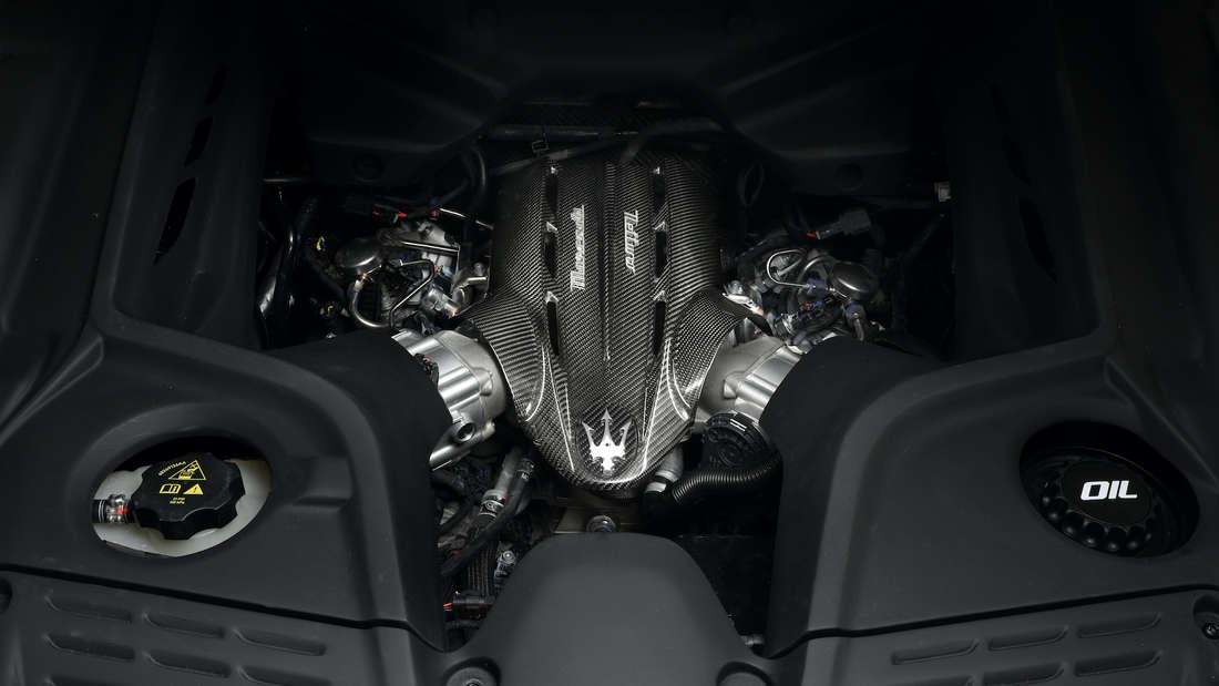 Der Motor des Maserati MC20