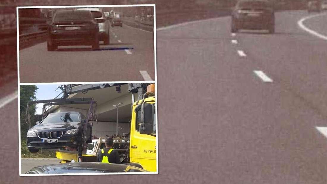 Mit 198 km/h lieferte sich ein Raser mit seinem BMW 7er ein Rennen mit einer Zivilstreife der hessischen Autobahnpolizei.