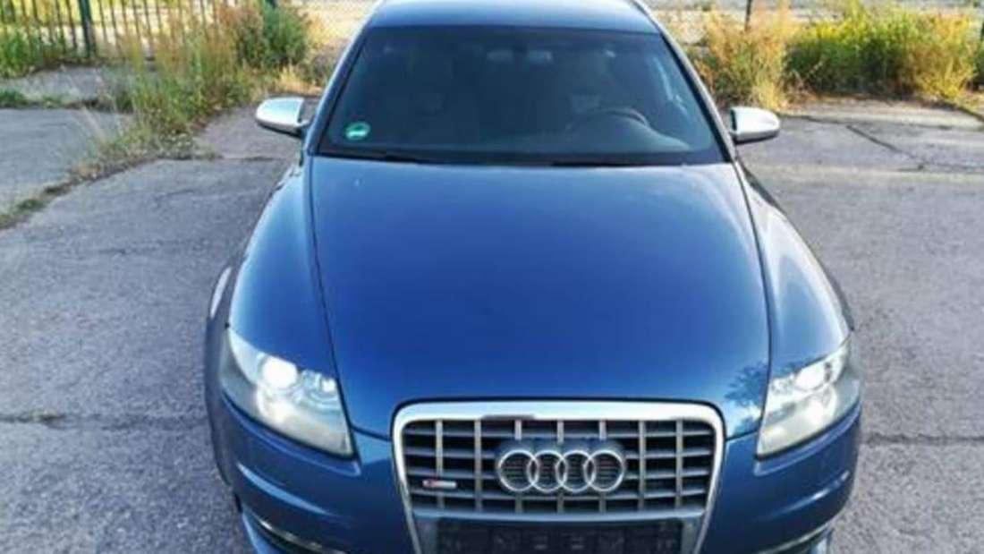 Fahndungsbild des Audi S6 Avant