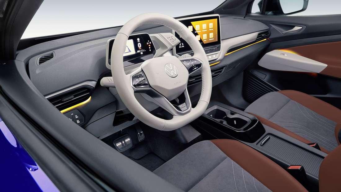 Cockpit-Aufnahme eines VW ID.4