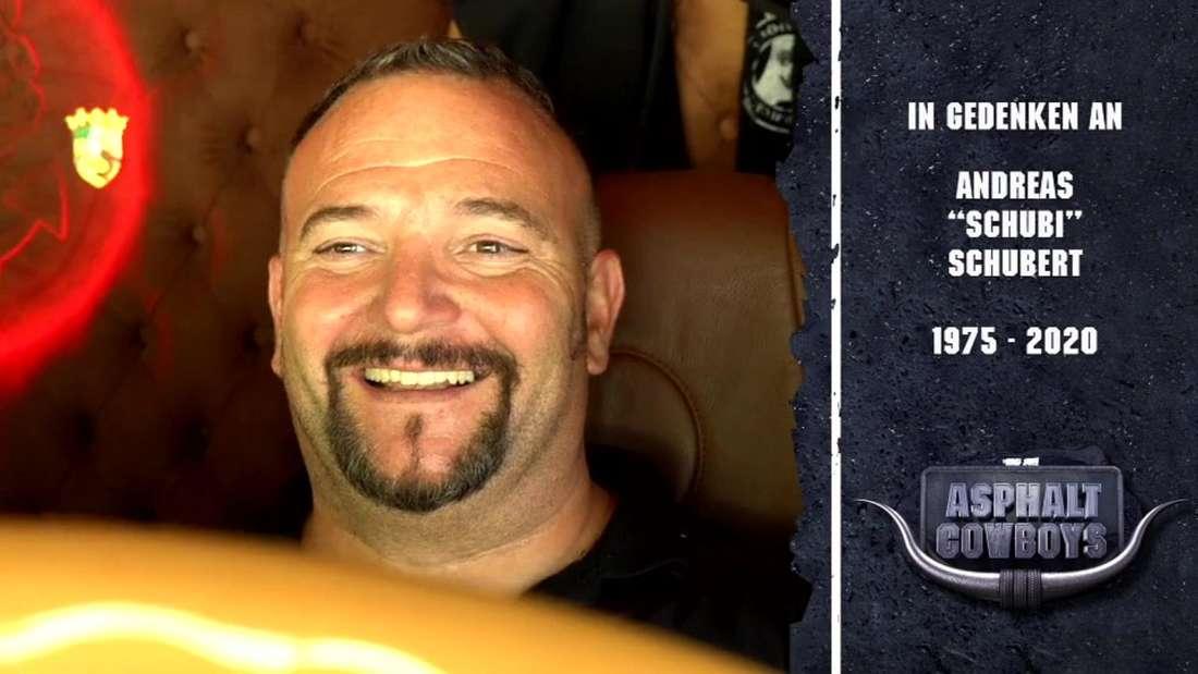 """Die DMAX-Sendung """"Asphalt Cowboys"""" gedenkt LKW-Fahrer Andreas Schubert."""