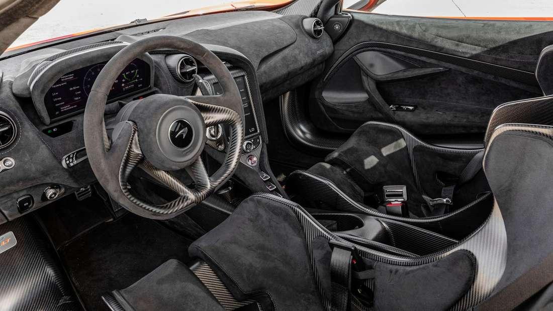 Cockpit-Aufnahme eines McLaren 765LT