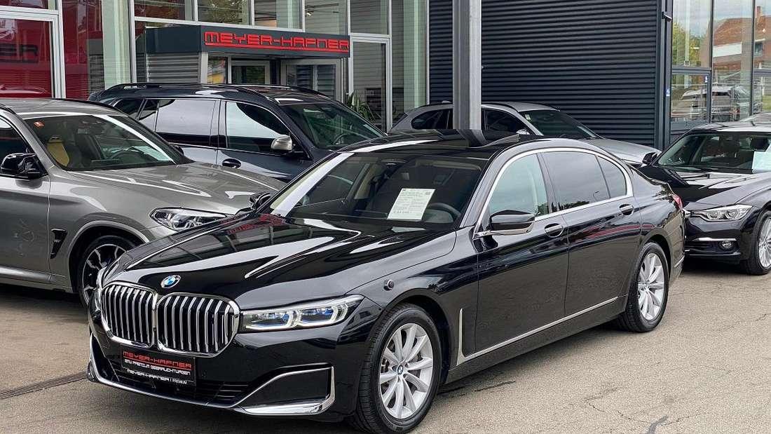 BMW 740Li xDrive des österreichischen Bundespräsidenten Alexander Van der Bellen