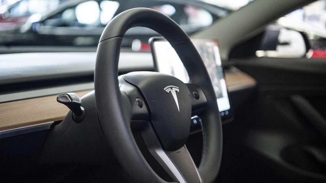 Das Innenleben des Tesla Model 3