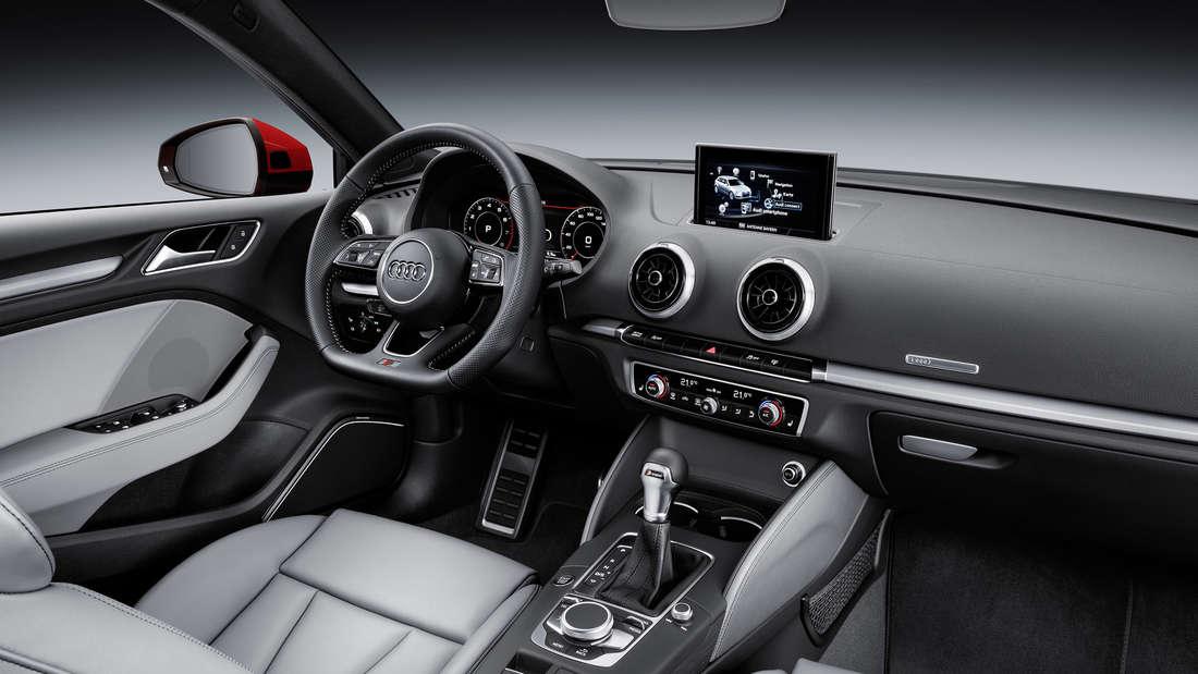 Der Innenraum eines Audi A3 (Symbolbild)