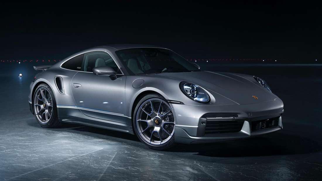 """Ein Porsche 911 Turbo S der limitierten """"Duet""""-Edition."""