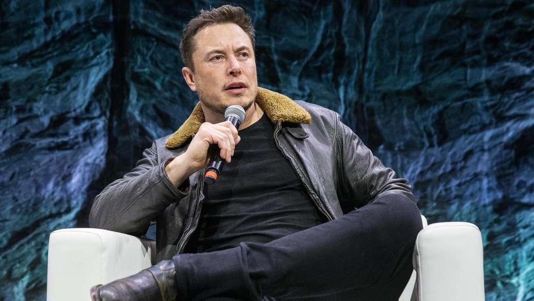 Tesla-CEO Elon Musk spricht auf einer Veranstaltung in Austin im US-Bundesstaat Texas.
