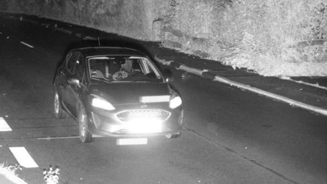 Blitzer-Foto der oberbergischen Polizei.