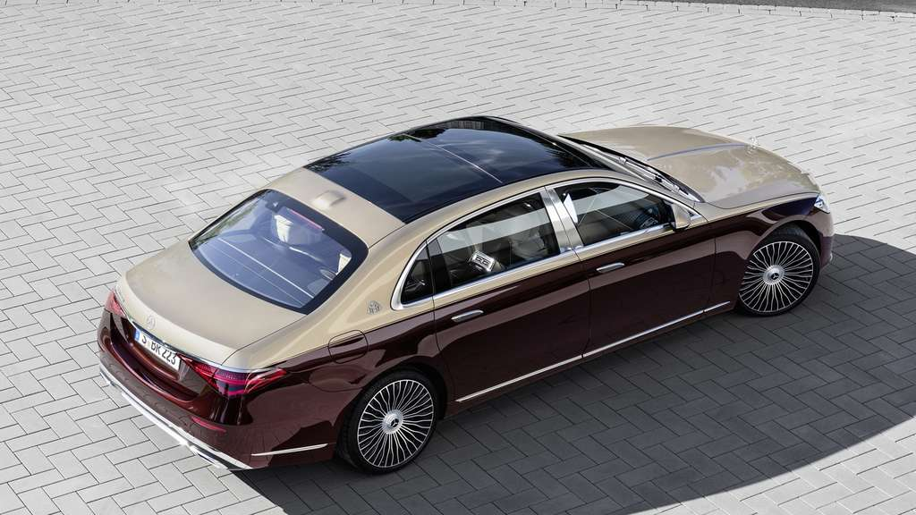 Eine Mercedes-Maybach S-Klasse