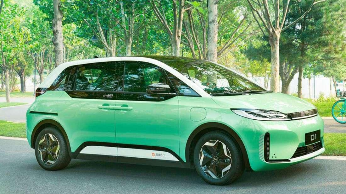 Das Didi D1 Elektroauto des chinesischen Herstellers BYD.