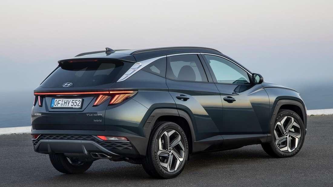Ein Hyundai Tucson 1.6 T-GDI