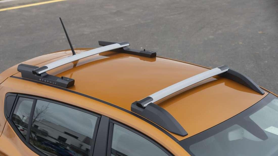 Das Dach eines Dacia Sandero Stepway