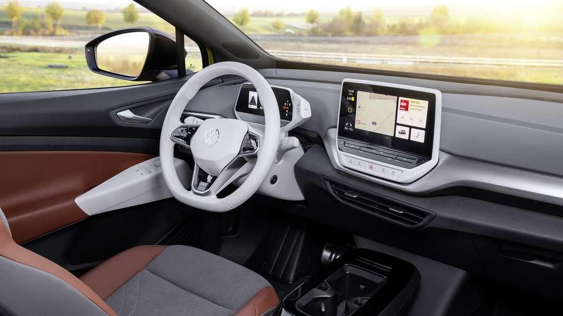 Blick in den Innenraum des VW ID.4