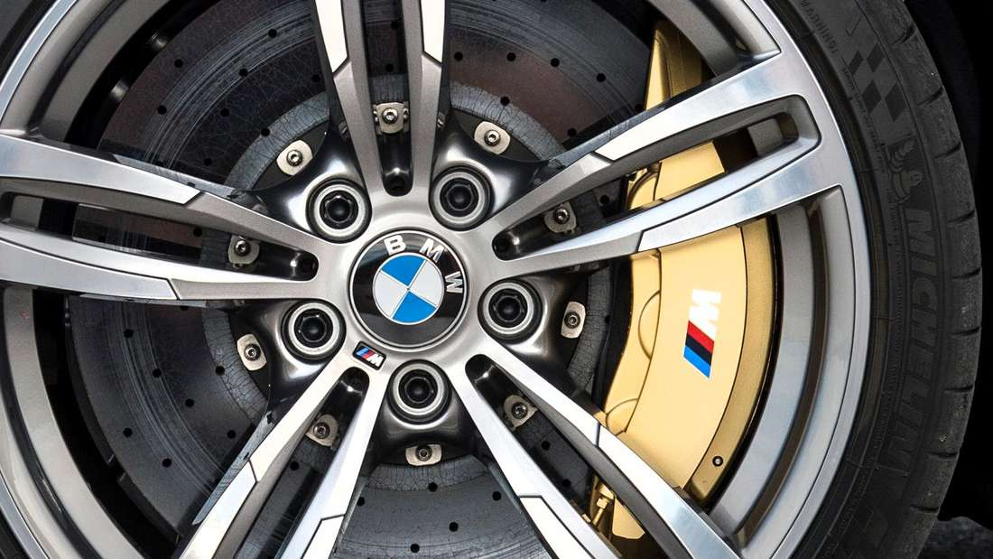 Eine BMW-M-Bremsanlage (Symbolbild)