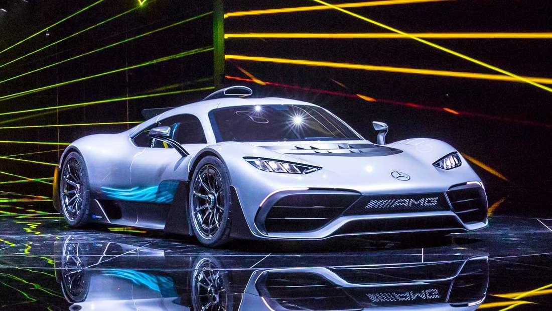 Der neue Supersportwagen Mercedes-AMG One