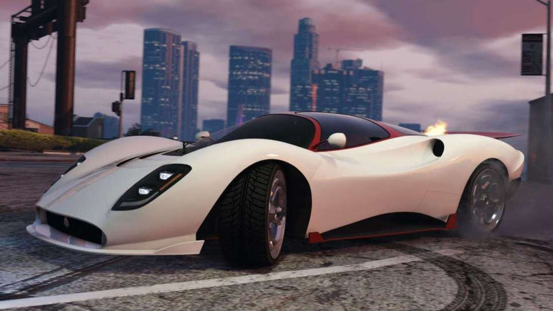 Der Lampadati Tigon im bekannten Open-World-Videospiel Grand Theft Auto V