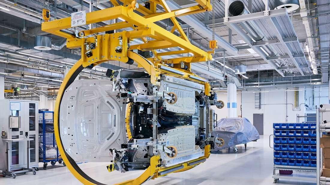 BMW-Produktion im Stammwerk in München