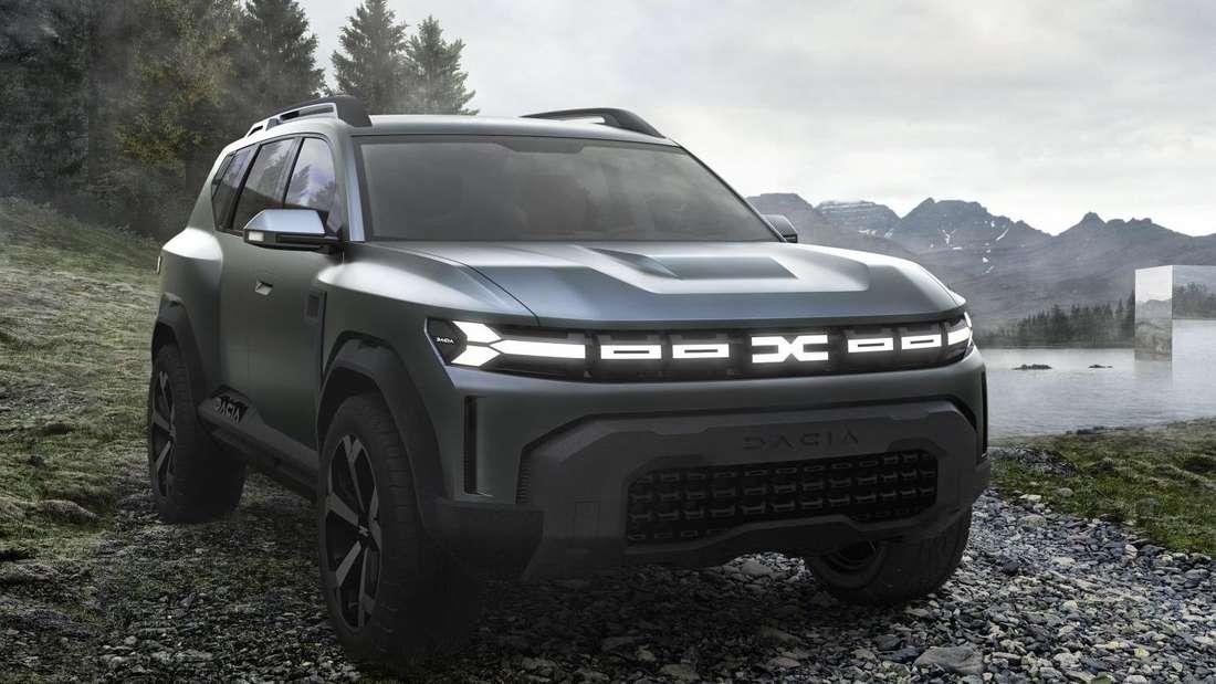 Der Dacia Bigster Concept