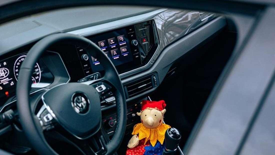Blick ins Innere des neu aufgelegte VW Polo Harlekin (2021)